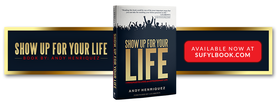 Show Up For Your Life Book